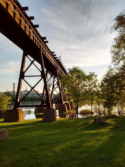 Pont sur la rivière Trent