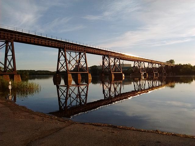 Bridge over Trent river