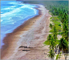 Ilhéus : Oceano atlantico - barriera corallina - spiaggia infinita - Resorts nella foresta tropicale