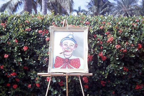 Clown Painting, 1968