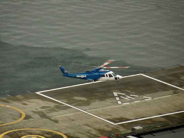 Smooth Landing at the Waterfront Heliport