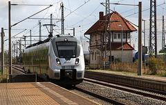 Nordhausen arrival