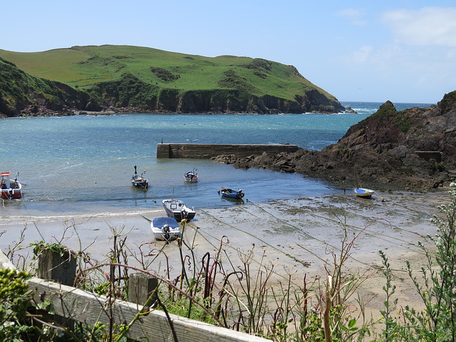 hope cove , nr.salcombe, devon