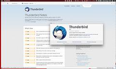 screenshot of my Thunderbird 45