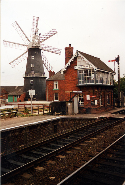 Heckington Signal Box & Windmill Lincolnshire
