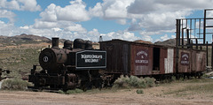 Goldfield, Bullfrog Goldfield Railroad Yard  (#1108)