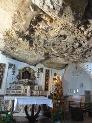 in der Wallfahrtskapelle Madonna della Rocca
