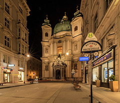 Wien Peterskirche