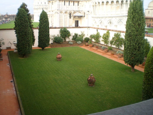 Terrace of the Museum of the Cathedral Works.