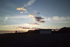Spectacle céleste au très petit matin.....
