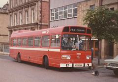Ribble 456 (NTC 636M) in Rochdale - Circa 1976