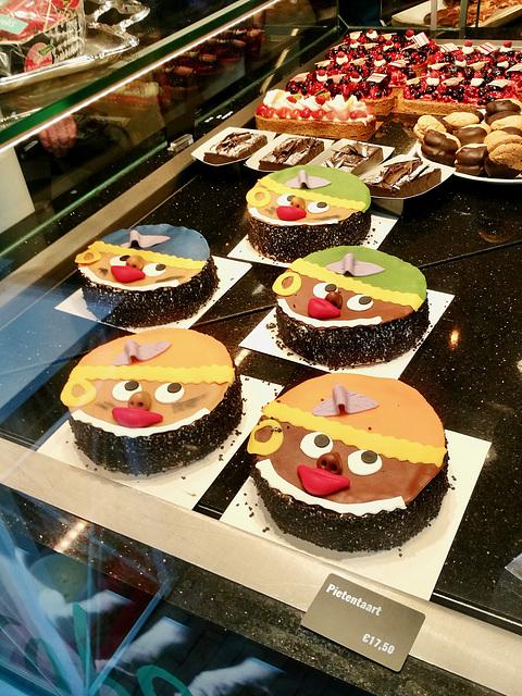 Black Pete cakes
