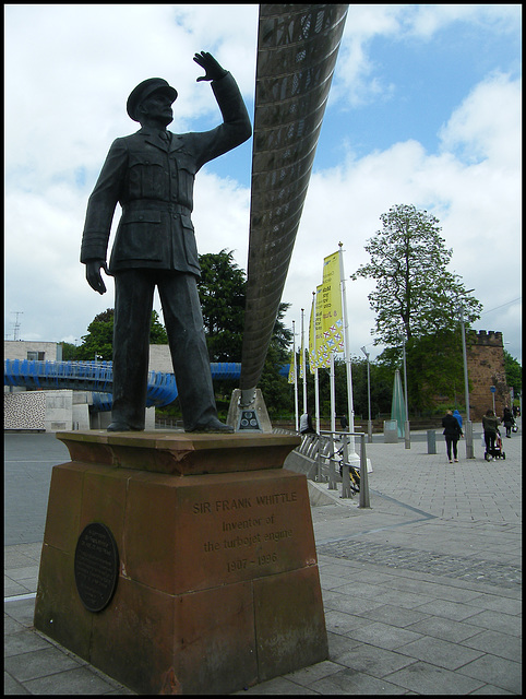 Sir Frank Whittle statue