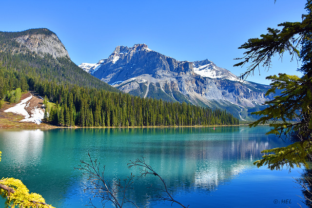 Emerald Lake,  Yoho National Park, Kanada