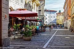 Trieste: i tavolini
