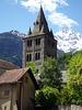 Kirchturm der Abtei Saint-Maurice VS