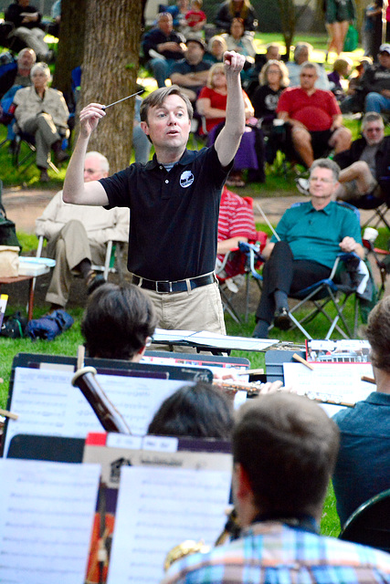 Andrew Trachsel is music director and principal conductor