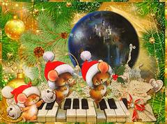Noël arrive et les souris dansent...