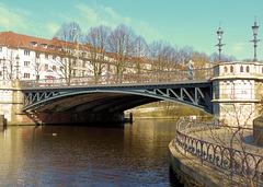 Hamburger Brücken 12/50: Am Schwanenwik - HFF