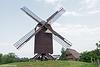 Die Bockwindmühle in Greifswald-Eldena...