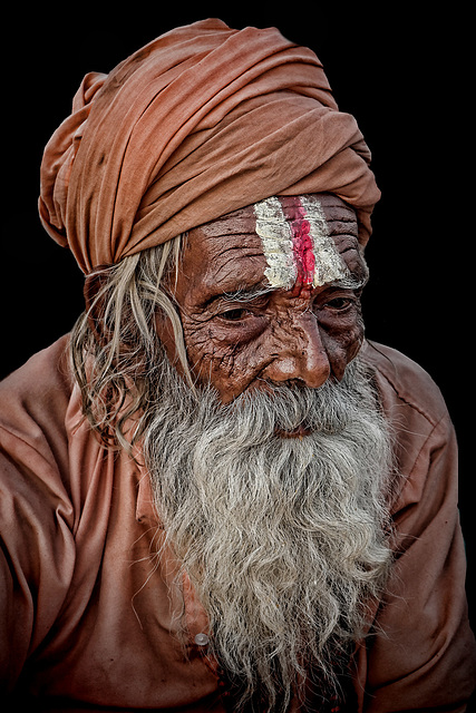 Old Sadhu from Haridwar
