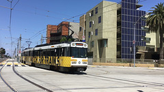 Expo Line Train Arriving (0845)