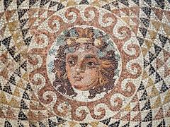 Mosaik im alten Korinth