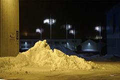 """""""Gelber"""" Schnee"""