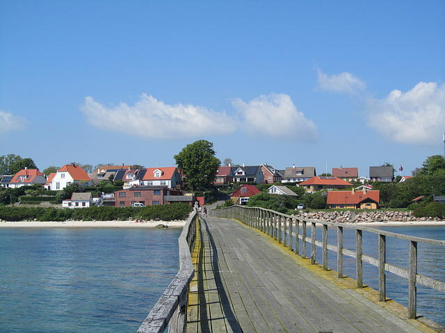 Arnager - Seebrücke