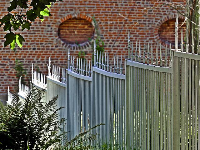 Wo Zäune schön sind...