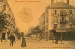 Hotelo Terminus en Bourg (Francio) apud Ĝenevo - kie Hodler kaj Rousseau kunvenis, ripozis kaj elpensis UEA