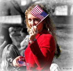 Eyeing the Flag