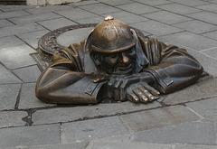 Bratislava Kanalarbeiter