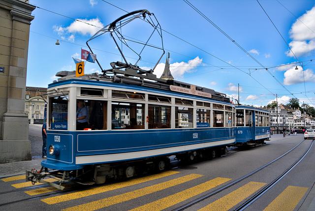 Tram Nr.6 Zürich