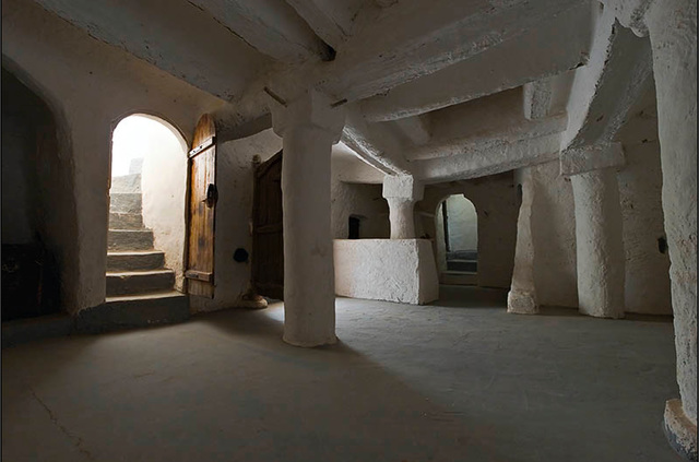 Ipernity int rieur d 39 un habitat troglodyte gharda a for Interieur algerien