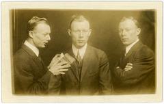 Fred W. Hopping in Triplicate