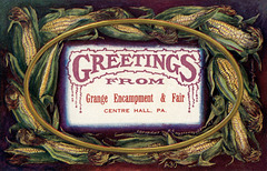 Greetings from the Grange Encampment and Fair, Centre Hall, Pennsylvania