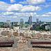Aussicht vom Gediminas-Turm in den neuen Teil von Vilnius (© Buelipix)