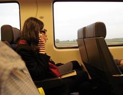 Sur le train Amsterdam / Bruxelles