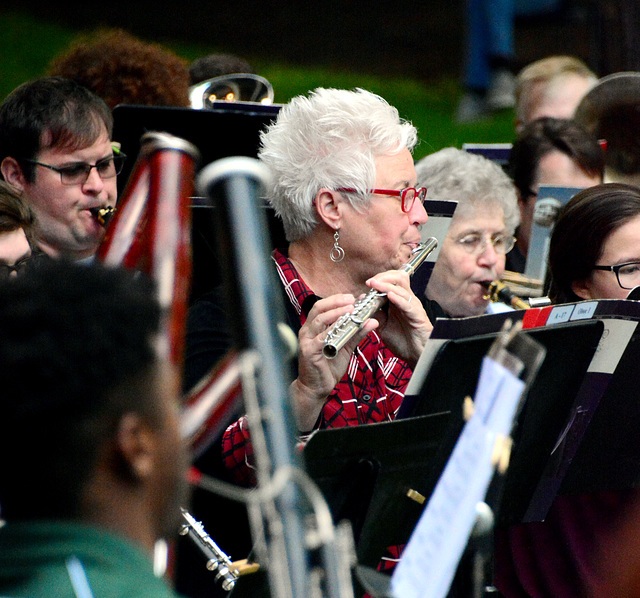 The band is made up of locals and university musicians