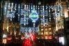 Oxford Circus Christmas lights