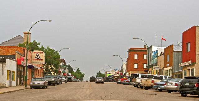 Typical Prairie Town