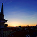 Sonnenuntergang über der Altstadt von Vilnius (© Buelipix)