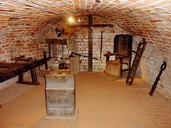 Penzlin, Folterkeller der Burg