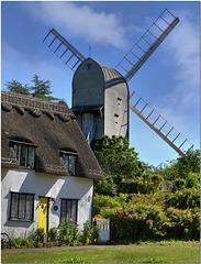 Finchingfield Post Mill, Essex