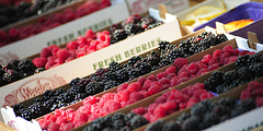 Berries at Farmers' Market, Ogden, Utah, 2014