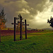 Herbstimmung bei den drei Kreuzen - Autumn mood at the three crosses - mit PiP
