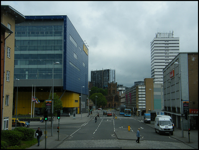 bleak view of Coventry