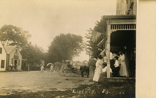 Fourth of July Parade, Liberty, Maine, 1908