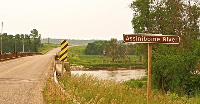 Flows through Saskatoon, Sask.